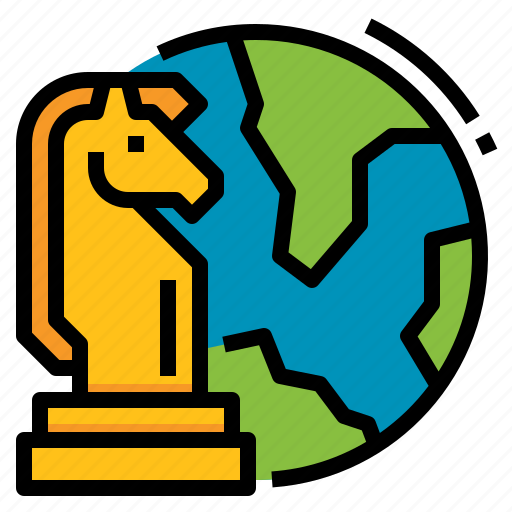 Business, chess, global, international, strategy icon - Download on Iconfinder