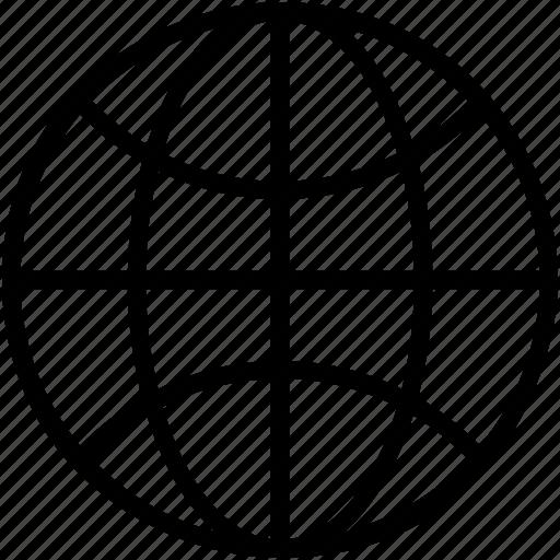 earth, earth grid, globe, planet, world, worldwide icon
