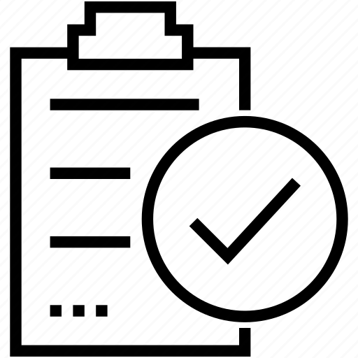 Checklist, clipboard, document, form icon - Download on Iconfinder