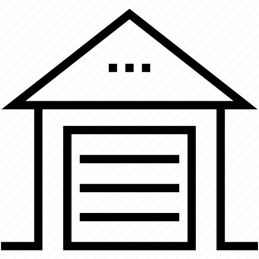 building, farmhouse, storage unit, storehouse, warehouse icon