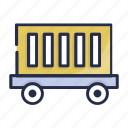 coal cart, construction cart, mine chariot, mine trolley, minecart icon