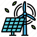 clean, energy, green, renewable icon