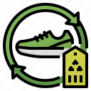 recycling, recycle, product, reused icon