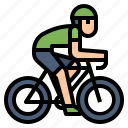 bicycle, cycling, exercise, riding icon