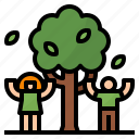 ecology, natural, nature, tree icon