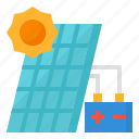 cell, energy, solar, system icon