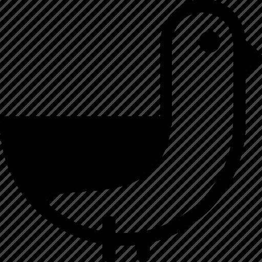 bird, celebration, dove, duck, marriage, party, wedding icon