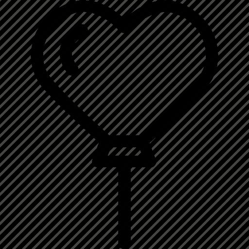 baloon, celebration, heart, love, marriage, party, wedding icon