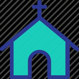 celebration, christian, church, home, marriage, party, wedding icon