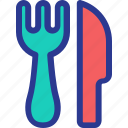 celebration, fork, knife, marriage, party, restaurant, wedding icon