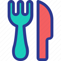 celebration, fork, knife, marriage, party, restaurant, wedding icon