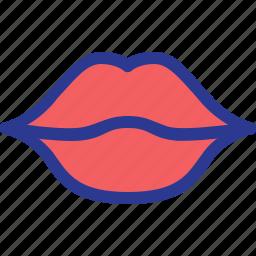 celebration, kiss, lips, marriage, mouth, party, wedding icon
