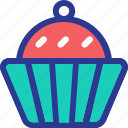 cake, celebration, cupcake, food, marriage, party, wedding icon