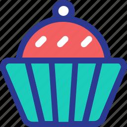 cake, celebration, cupcake, food, marriage, party, wedding icon
