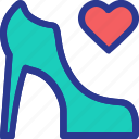 boots, celebration, high heels, love, marriage, party, wedding icon