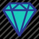 celebration, diamond, gemstone, jewelry, marriage, party, wedding icon