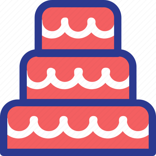 birthday cake, cake, celebration, marriage, party, wedding icon