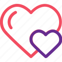 celebration, heart, love, lovely, marriage, party, wedding icon