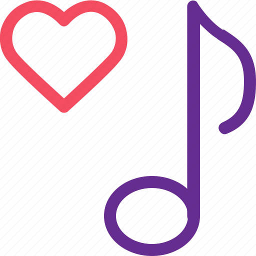 celebration, love, marriage, note, party, song, wedding icon
