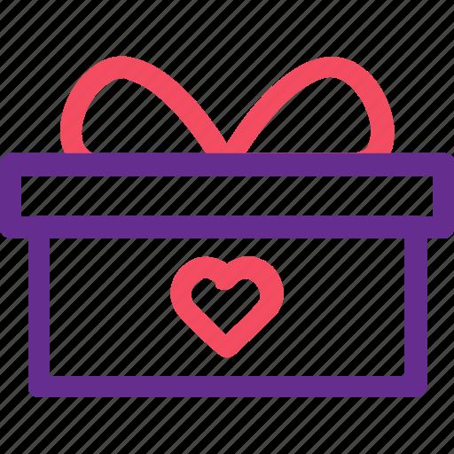 box, celebration, gift, marriage, party, present, wedding icon