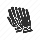 construction gloves, gloves, hand protection, hand protector, leather gloves, mittens, yard work gloves icon