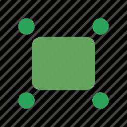 arrows, diagonal, enlarge, expand, fullscreen, maximize, zoom icon
