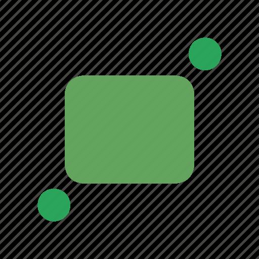 arrows, diagonal, expand, full, fullscreen, maximize icon