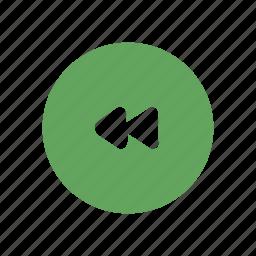 audio, forward, left, music, player, rew, rewind icon