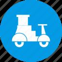 bike, delivery, transport, transportation, travel icon
