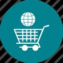 cargo, cart, global, online, shopping, trolley