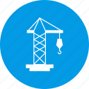 crane, industry, working icon