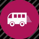 fast, transport, transportation, travel, van icon