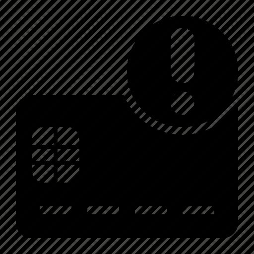 atm, card, chip, credit, debit, error, front icon