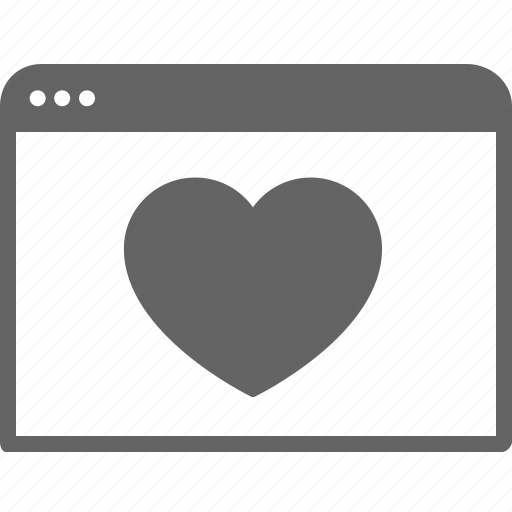 communication, favourite, guardar, heart, like, save, window icon