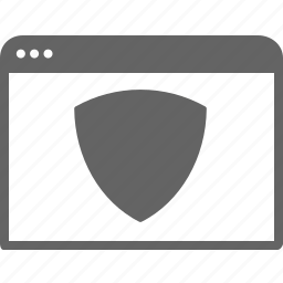 communication, computer, internet, security, window icon