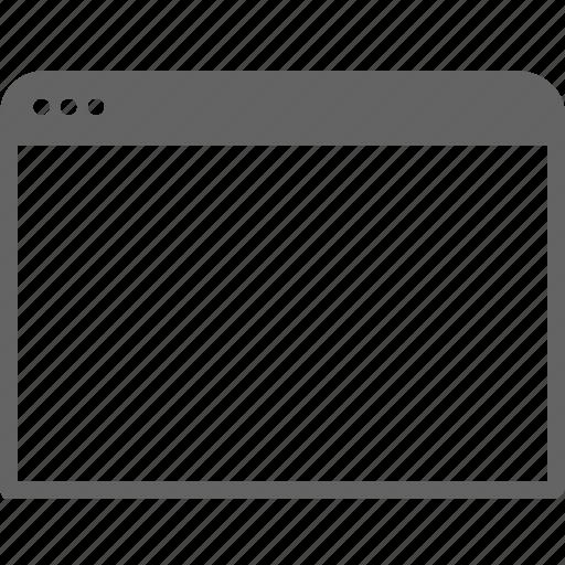 communication, internet, window icon