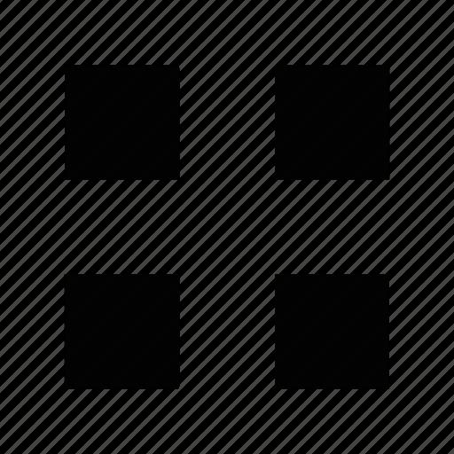 creative, grid, layout, line, shape icon