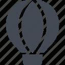 air balloon, movement, tourism, transportation, travel, vacation icon