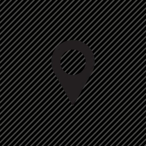 interface, map, mark, ui, user icon