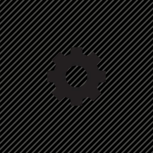 gear, interface, settings, ui, user icon