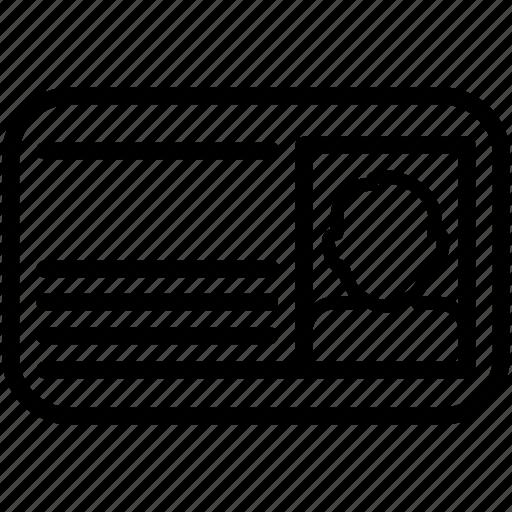 card, id, male, man, person, profile, user icon