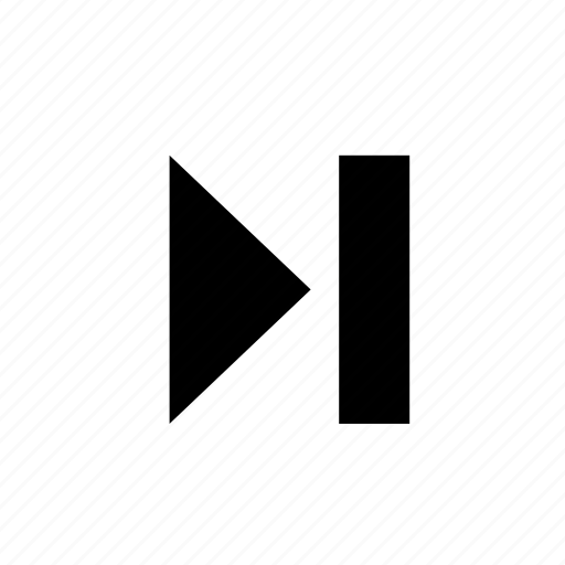 forward, music, next, play, skip icon
