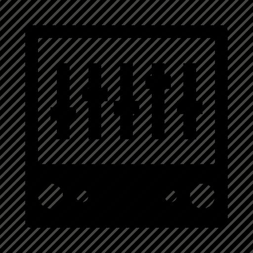 audio, control, controller, music, sound icon