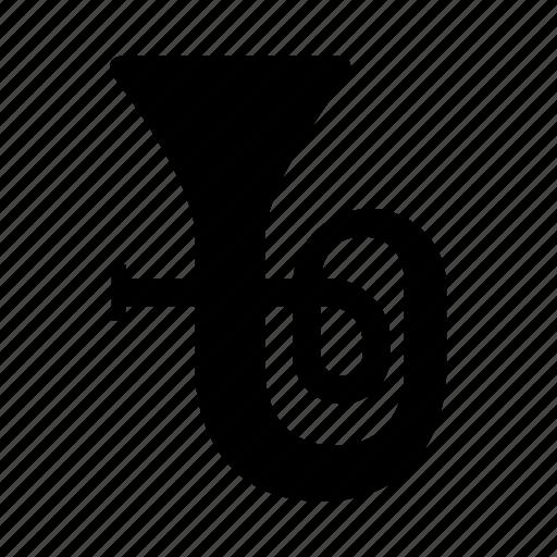 brass, instrument, music, sound, tuba, wind icon