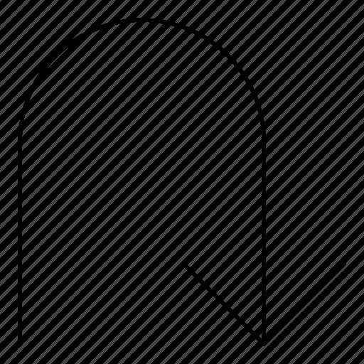arrows, back, basic, hairline, minimal, r, return icon