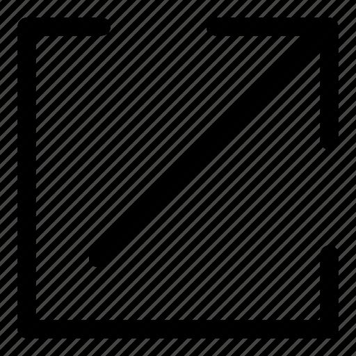 arrows, basic, r, share, upload icon