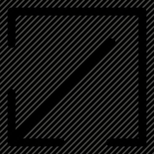 arrows, basic, decrease, download, r icon