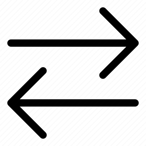 arrows, basic, r, split, way icon