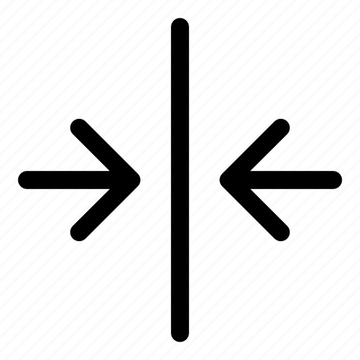arrows, basic, decrease, minimize, r icon