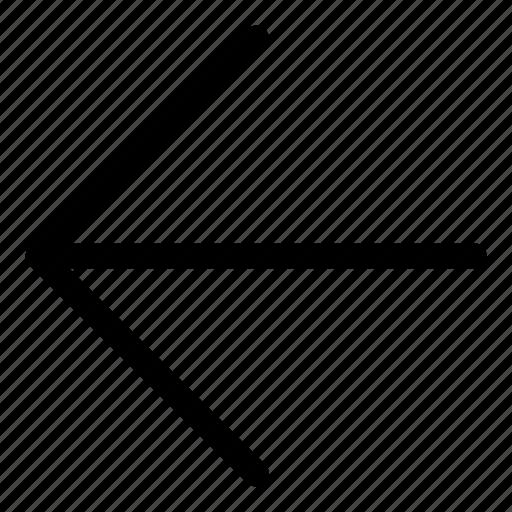 arrows, back, basic, left, r icon